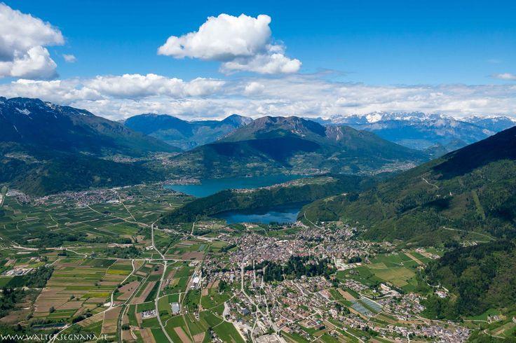 Levico Terme e Alta Valsugana, foto in volo