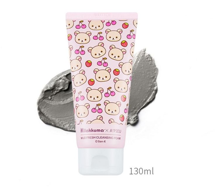 bbcosmetic - [A'PIEU] Rilakkuma Collaboration Mud Fresh Cleansing Foam 130ml, $6.51 (http://bbcosmetic.com/apieu-rilakkuma-collaboration-mud-fresh-cleansing-foam-130ml/)