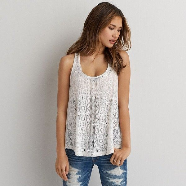 bbadcda2714 American Eagle floral tank American eagle outfitters tops Shoulder