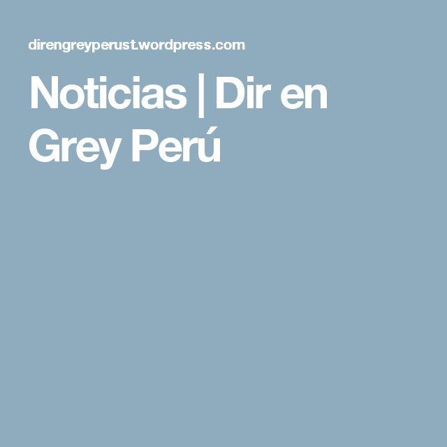Noticias | Dir en Grey Perú