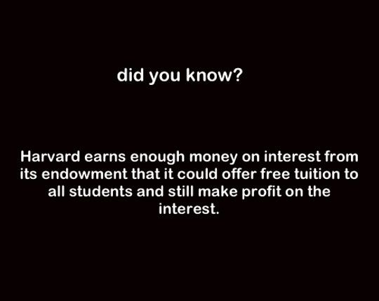 Harvard Profit - Due to the fact that all children of congress members do not have to pay for all the student loans they take out, they get to go to school on a free ride as well.