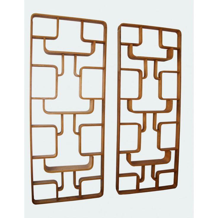 Paire de claustras, Jinrich HALABALA - années 50 - Design Market