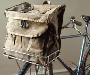 Waxed Porteur Rack Pack