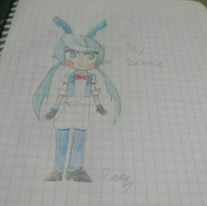 Toy Bonnie fnaf 2