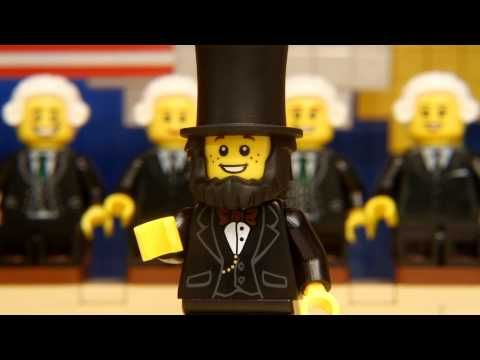 Lego's Presidents' Day - perfect for a quick brain break.