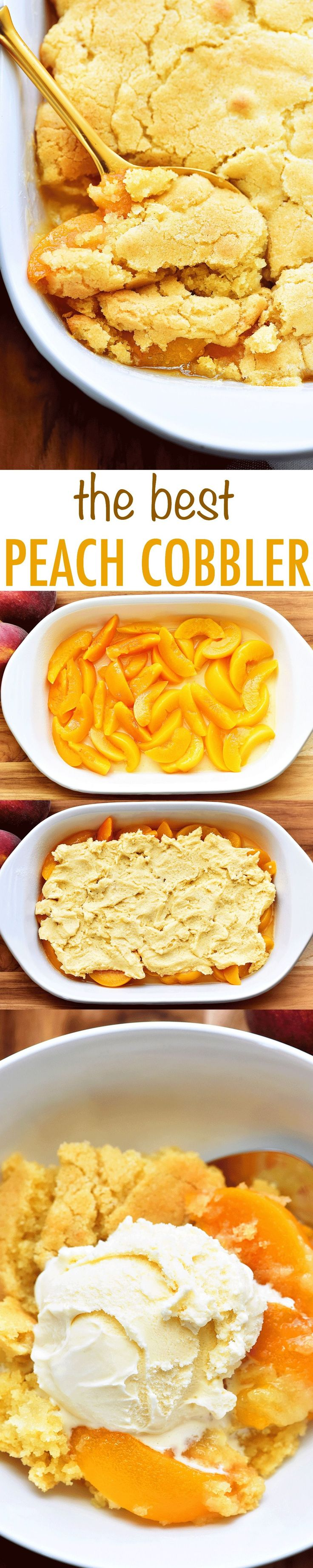 "Hey friends! I am SO excited to share this recipe today. First of all, I know calling a recipe ""the best"" is pretty bold. I usually don't like to do it on my blog, but when I truly ""feel"" something is the best I am going to say it!   This is THE BEST PEACH... Read More »"