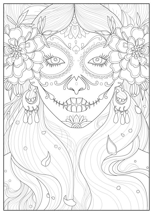 Adult days of the dead by julineFrom the gallery : Zen & Anti StressArtist : Juline