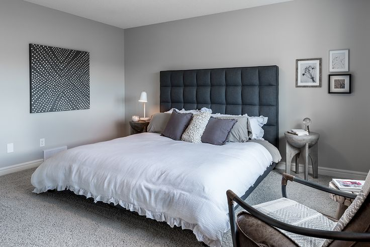 A master bedroom fit for any king and queen.
