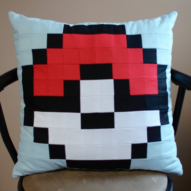 Really love what PixelPillowsByLiz is doing on Etsy.