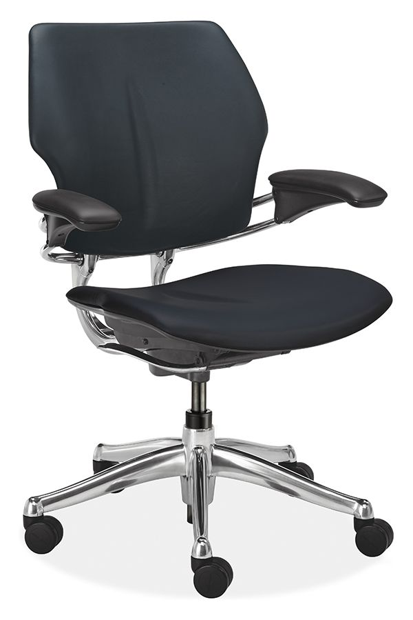 the humanscale freedom office chair is our most advanced option because it is so simple