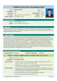 Image result for civil engineering example resume format in pdf