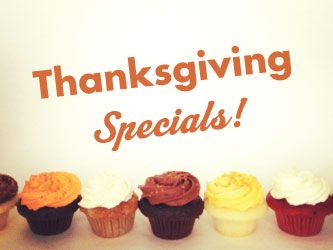 Thanksgiving cupcakes in calgary, edmonton and saskatoon