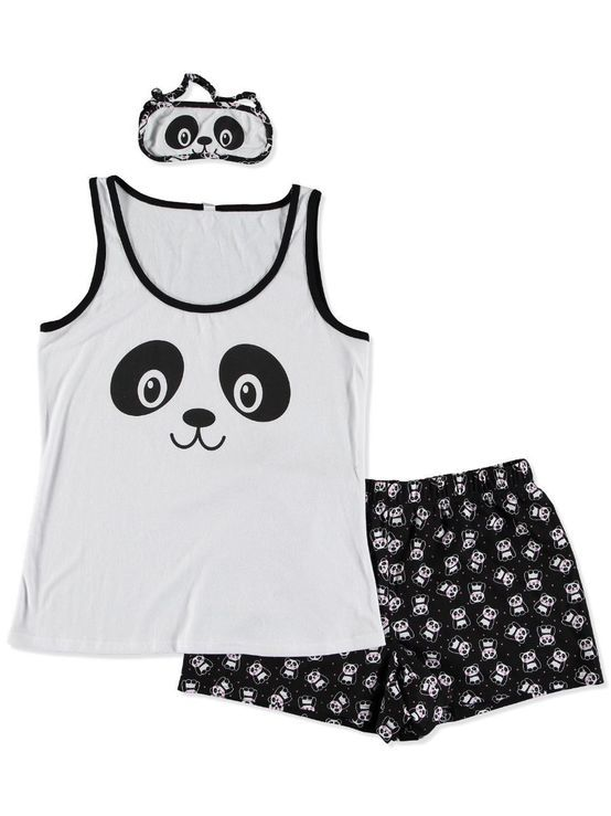 Panda pj set. The pants