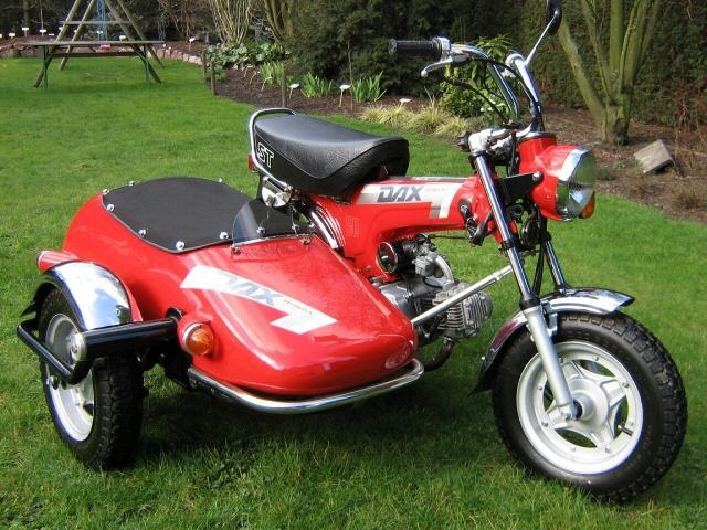 honda dax sidecar honda mini wheels pinterest. Black Bedroom Furniture Sets. Home Design Ideas