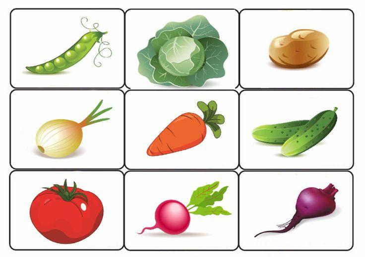 """Лото """"Овощи"""" - Babyblog.ru"""