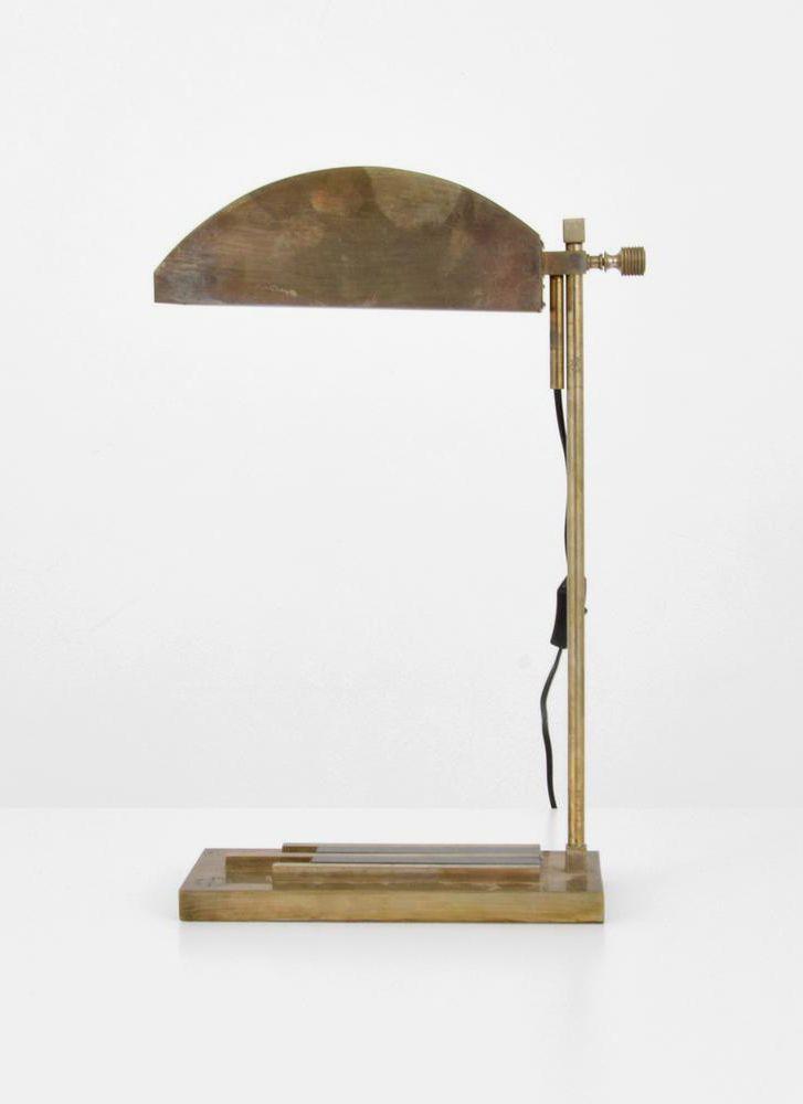 Marcel Breuer Desk Lamp, 1925 Paris Exhibition
