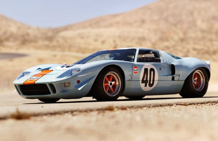 Ford GT40 – 50 years #icon #ford #gt40 #gulf