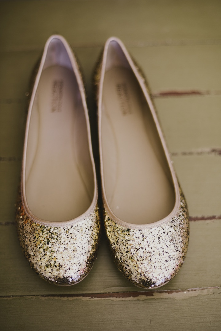 Cute flats for the bride.  Photography By / http://june-cochran.com,Planning
