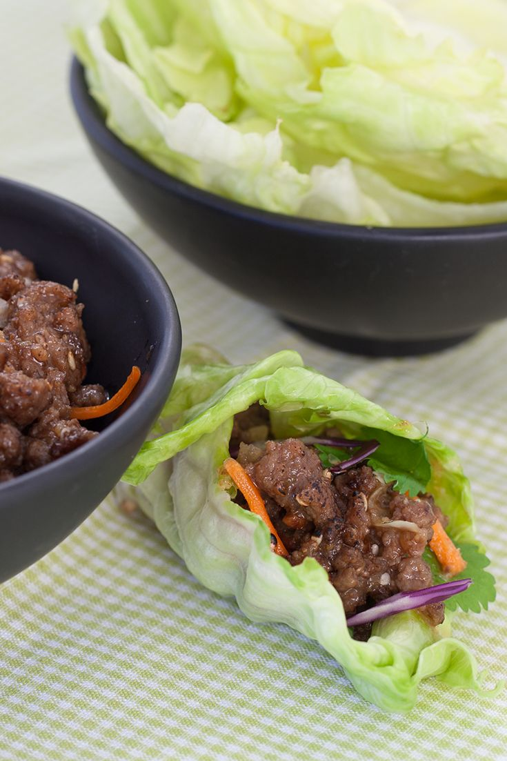 #Epicure Easy Asian Lettuce Wraps