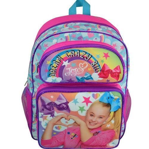 """Nickelodeon Girls' Jojo Dream Crazy Big 16"""" Backpack Cost: $8.00 MOQ: 648 QTY: 2403 #45,752 in Clothing, Shoes & Jewelry ASIN: B074W3CYR1 UPC: 693186441097 https://www.palletfly.com/products/nickelodeon-girls-jojo-dream-crazy-big-16-backpack #Nickelodeon #JoJoSiwa #Backpack #Dream #CrazyBig #Amazonseller #palletfly #wholesaledeals #Distributor #wholesaleprice #Amazon #buyinbulk #pallet #sellonline #bulk #moq #sourcing #deals"""