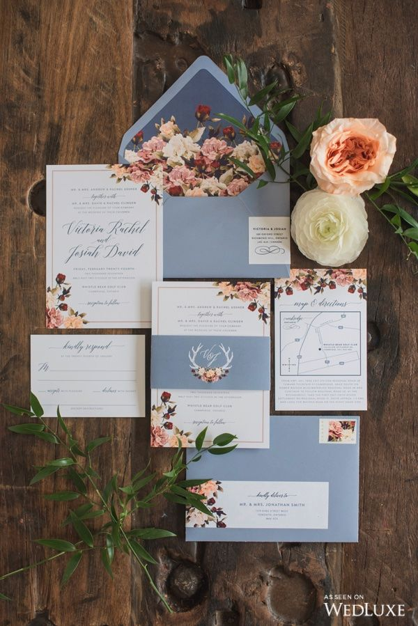 navy blue and kelly green wedding invitations%0A We love these something blue wedding invitations  Photography By  Blynda  Dacosta Photography   WedLuxe