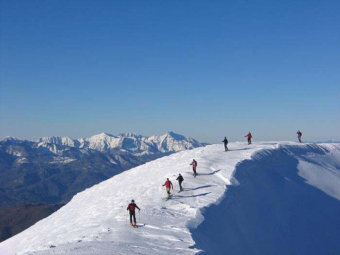 Ski Mountaineering in the Apuan Alps