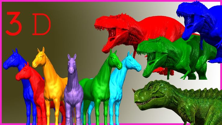 Learn Colors With Giant Dinosaur Song | DIY Learn Color Song |  Preschoo...