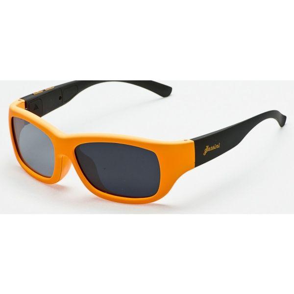 #Okulary ze sterowanym zaciemnieniem:: przeciwsłoneczne z polaryzacją #Glassini Aruba Orange/Black