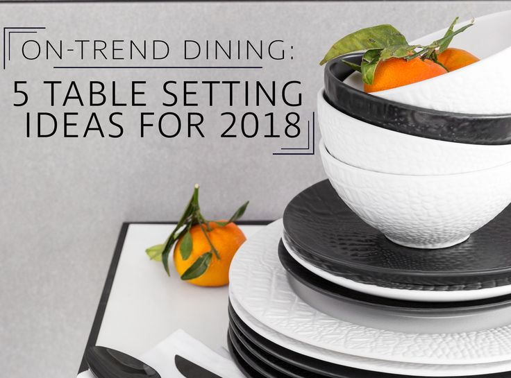 From relaxed everyday dining to special occasions, a superbly styled dining table has on-trend tableware and cutlery at its core. The LuxPad looks at 5 chic table setting ideas for 2018...