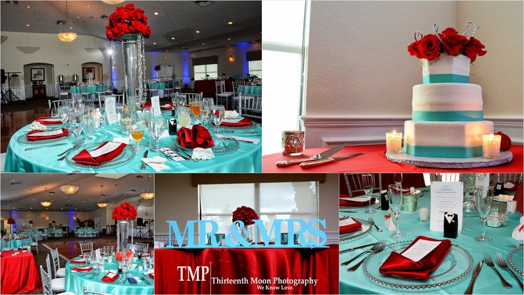Tiffany Blue & Red Wedding | Always&Forever! | Pinterest ...