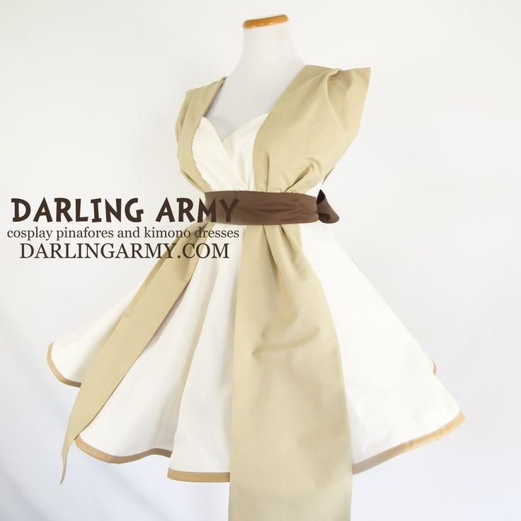 Rey Star Wars Force Awakens Cosplay Pinafore Dress | Darling Army