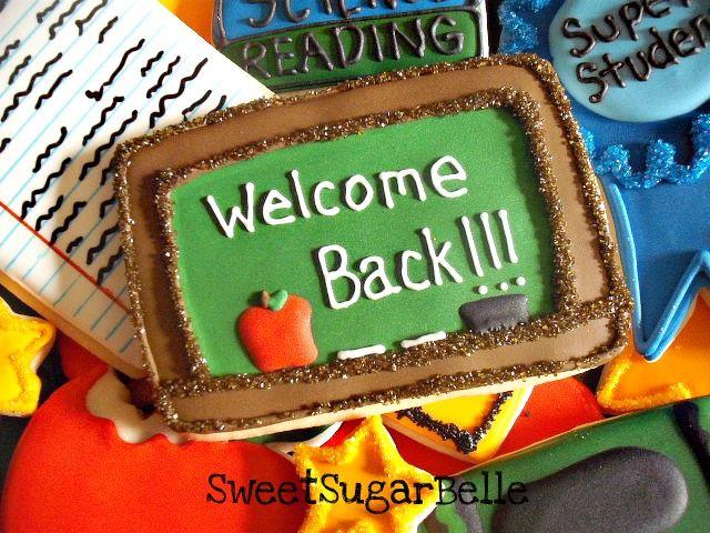 Teacher Appreciation CookiesBack To Schools, Appreciation Cookies, Teachers Appreciation, Schools Ideas, Schools Cake, Teachers Cookies, Schools Cookies, Cute Cookies, Cake Schools
