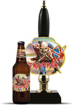 Iron Maiden, The Trooper beer.