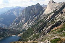 The High Sierra Trail above Hamilton Lake passes over the Great Western Divide, Sequoia National Park, California - Wikipedia