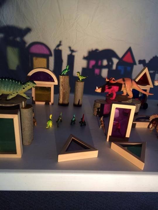 """Loving this dinosaur shadow play from Play at Home Mom ("""",)"""