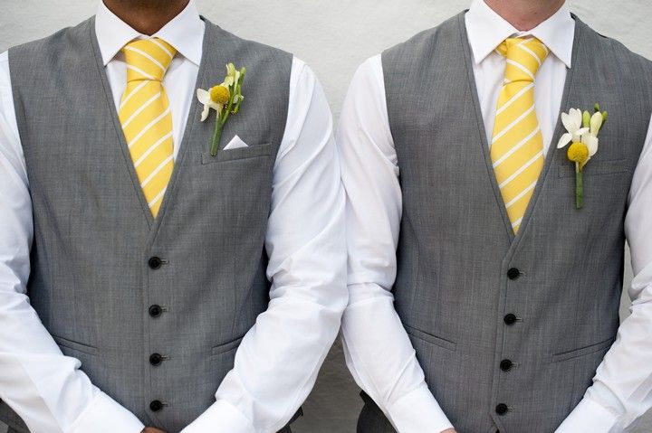 Emma and Patrick's Sunshine Yellow Ibiza Wedding by Ana Lui