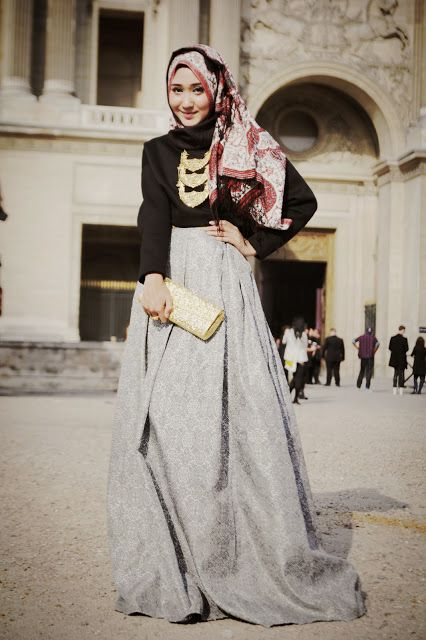 hijab styles. I respect that this style is tied to a religious lifestyle, so without disregarding that fact let me just say: this outfit is so fly!