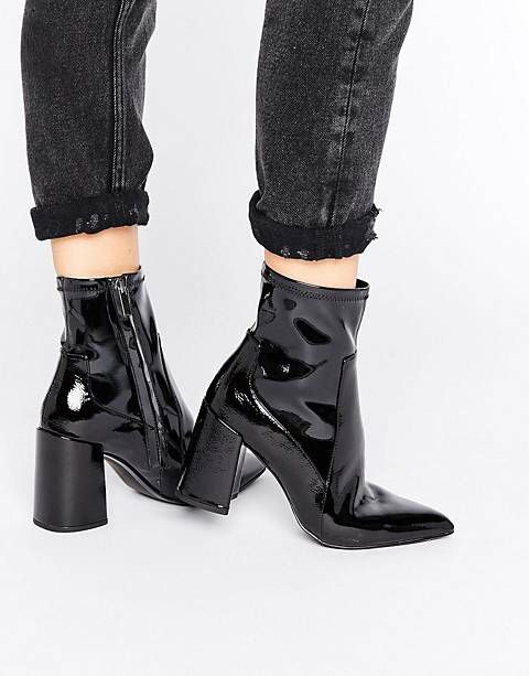 Topshop Bottines vernies HARP