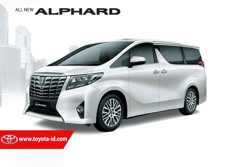 Toyota Alphard 2.5 G A-T Mobil - White Pearl Crystal Shine
