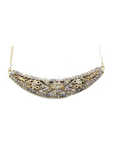 """Colier """"Delicate metallic collar""""- Anna Karenina fw'12 collection"""