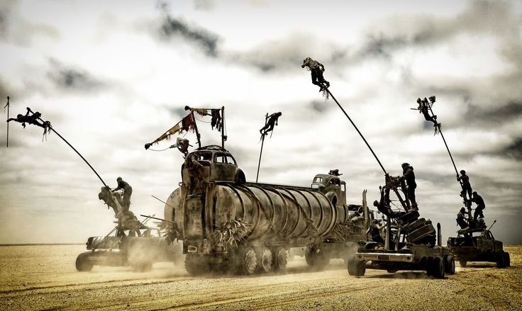 Mad Max Furry Road : scène culte