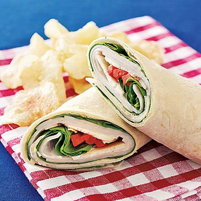 Instant Turkey Wrap #recipe