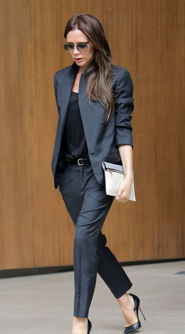 Would love a suit like this. Perfection from head to toe - though Posh has always been flawless to me.