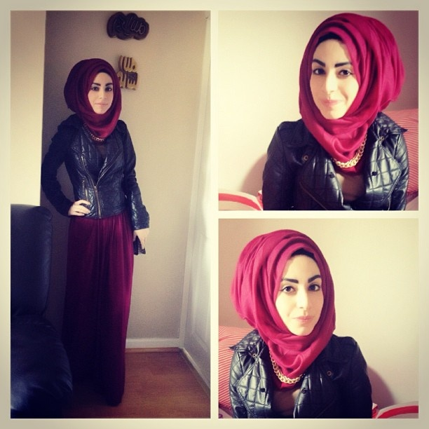 Ootd! Maroon hijab £4.99 at www.poisewithjoys.bigcartel.com. Chain from @Maria Canavello Mrasek Canavello Mrasek Canavello Mrasek Almuzara