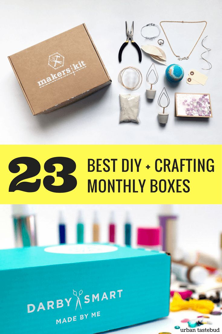 Best DIY and Craft Subscription Boxes