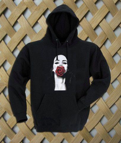 Lana Del Rey Rose Hoodie #shirt #tanktop #tops #tees #tee  #graphictees #tumblrshirt #hoodie #unisex clothing
