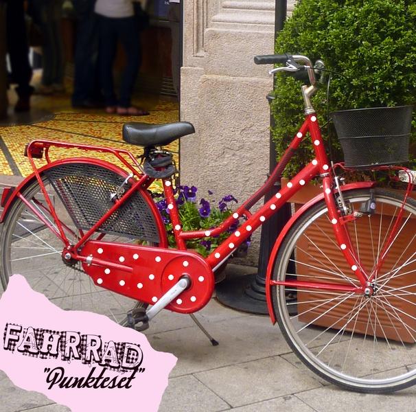 Fahrrad Aufkleber Set Punkte Dots Tattoo Rad M681 - Autoaufkleber von IlkaParey - Fahrräder - Sport - DaWanda