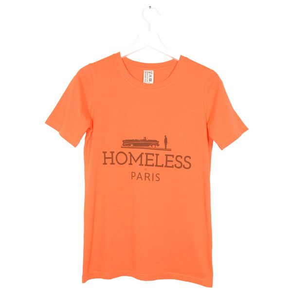 EDWARD EDWARD Jerk Orange T-shirt | La Luce http://shoplaluce.com/collections/edward-edward-by-edward-achour/products/edward-edward-jerk-orange-t-shirt