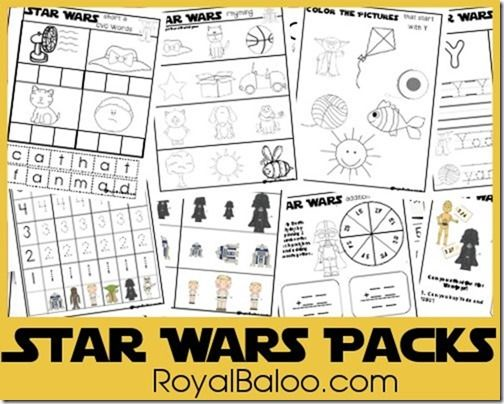 Free Star Wars Kinder and 2nd Packs