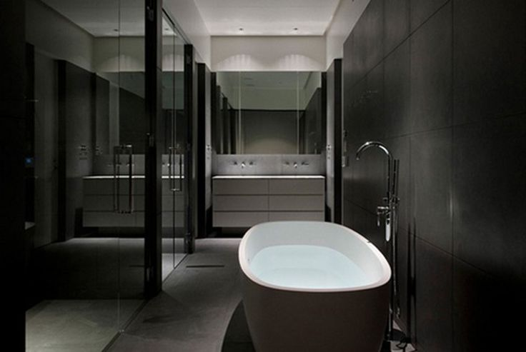Gray Bathroom Color Schemes Bathroom Luxury Style Dark Grey Color Scheme Of Lovely Bathroom House Renovation Ideas Pinterest Traditional